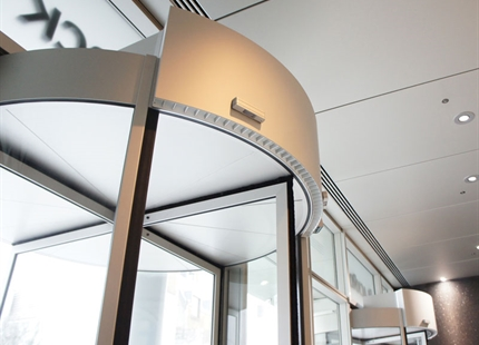 Air Curtains Collaboration at Drapers Hall