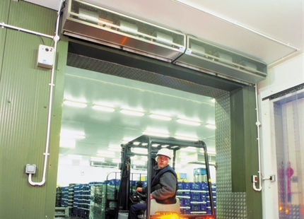 Air Curtains Seal Natures Way Foods' Chill Store