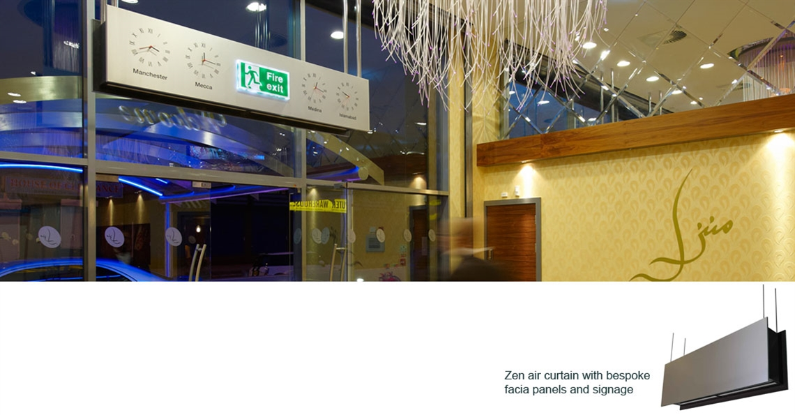 Creating the right atmosphere at the. Manzil Banqueting Hall, Manchester