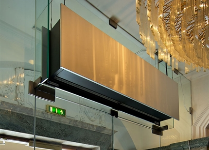 JS Air Curtains provides vital ingredient at Town Hall Hotel