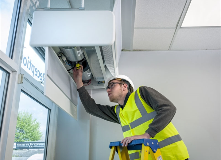 Servicing by a JS Air Curtain engineer will keep your air curtain operating at its best