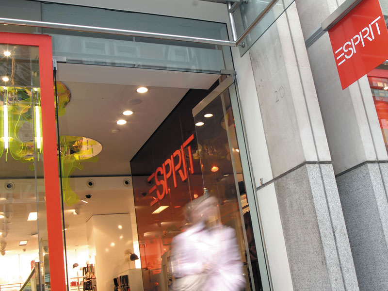 Shop air curtain Esprit