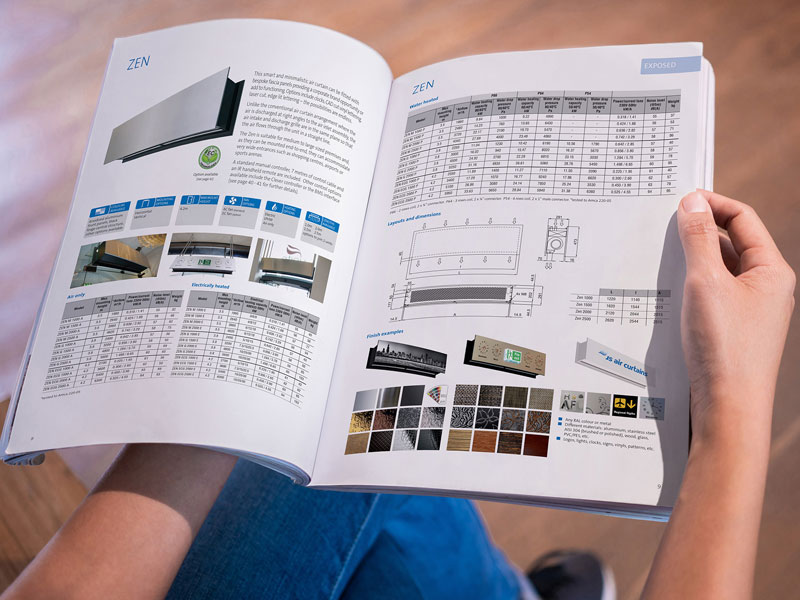 JS Air Curtains new product catalogue