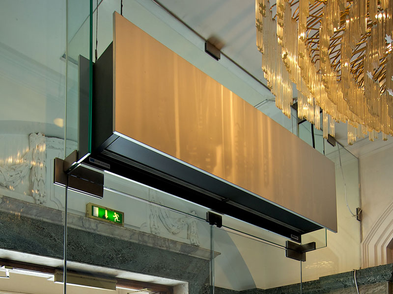 Zen air curtain at Town Hall Hotel, London
