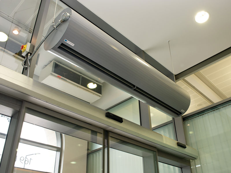 2m Rund air curtain